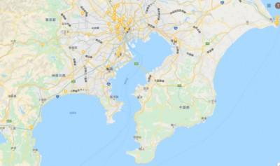 日本地図の一部
