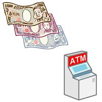 お金とATM
