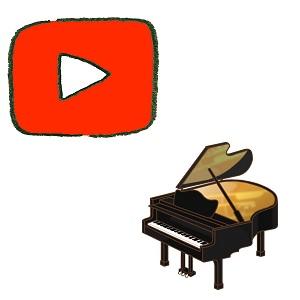 YouTubeとピアノ